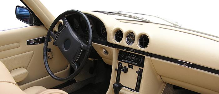 Car Interior Fabric Evaluation. Car